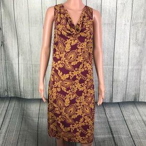 Tommy Bahama Sleeveless Printed Dress Medium